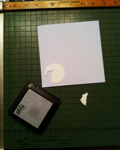 Wolf Moon stationery in progress....